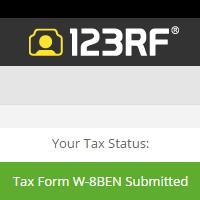 Jak vyplnit TaxForm na 123RF