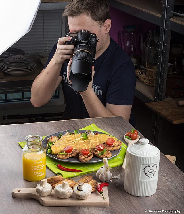 Rozhovor s Petrem Štěpánkem, fotobankovým food fotografem