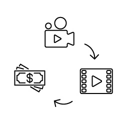 Prodej videa ve fotobankách